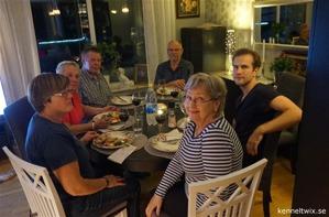 Lena Brehmer, Karin & Kent Zetterström, Kenth & Robin och min mamma Anita.
