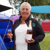 Glad ägare till Buddha! Karin Zetterström. Vännäs 2018 Firar Ch Twix Dix Nougatino's Championat.