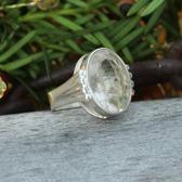 Bergkristall med rutil