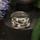 47. 6 zirkoner i lila och vitt