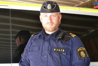 Polisen Anders Sund är nu vikarierande lokalpolisområdeschef. Foto: Privat.