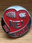 Nej-Mobbning pin