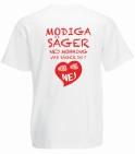 Nej-Mobbning t-shirt