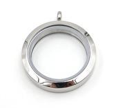 Medium Silver Story locket 25mm