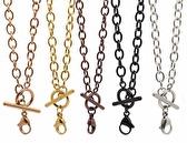 Silver Toggle Chain 18 inch (45cm)