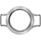 Locket base silver