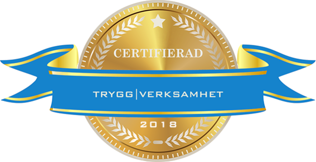 Certifierad Trygg verkstad