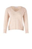 T2097 Sand / knit blouse