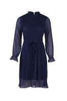 T6071 ant. blue / Woven dress