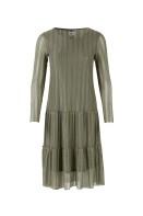 T6586 D. Olive / Jersey dress
