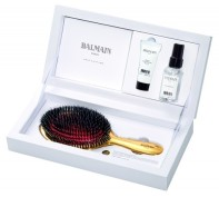 Balmain golden spa brush box 24K