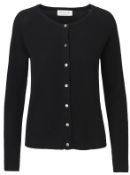 Cardigan - Black / Cashmere & whool