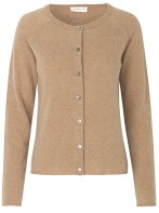 Cardigan - camel/ Cashmere & whool