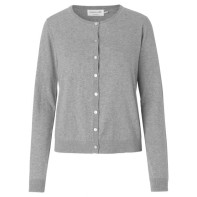 Rosemunde Cardigan - Light Grey 6357