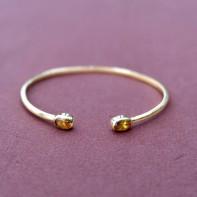 Feluca golden stone cuff