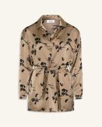 Love250 Champagne Flower Shirt - Size XS