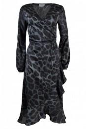 Riva leo dress / blue - Size XS