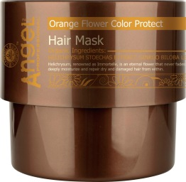 Angel Orange Flower Color Protect Hair Mask // 500ml - Orange Flower Color Protect Hair Mask