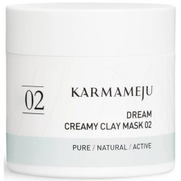 Karmameju 02 Creamy Clay Mask - DREAM // 65ml - 02 Creamy Clay Mask - DREAM