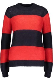 T2066 Dark Blue/Red Knit - Size M