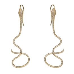 Snakeglam earrings gold - Snakeglam earrings gold