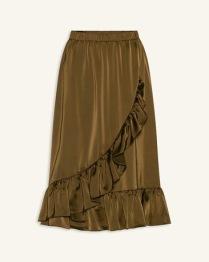 Love216-5 khaki skirt - Size XS