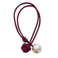 Amanda Hair Tie // Bordeaux