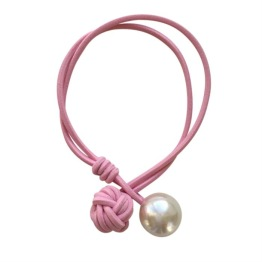 Amanda Hair Tie // Light Pink - Amanda - Light Pink