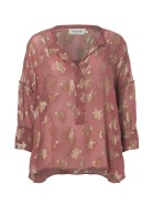 Agnes Blouse - Mineral Red