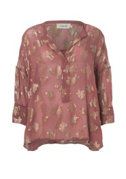 Agnes Blouse - Mineral Red - Size S