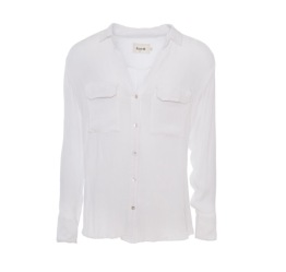 Bertha Shirt White - Size S