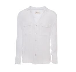 Bertha Shirt White - Size L