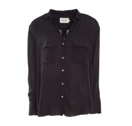 Bertha Shirt Black - Size S