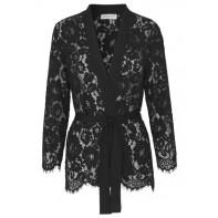 Lace Kimono - Black