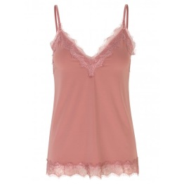 Silk Strap Top - Pink Blush - Size 34