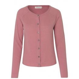 Cashmere & Whool Cardigan - Pink Blush - - Size XS