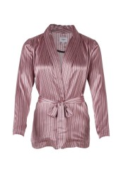 Casual Silk Blazer - P Rose - Size XS
