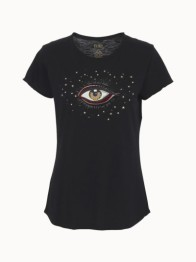 Lyon T-shirt w. Eye - Size XS