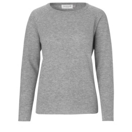 Pullover  - Light Grey - Size S