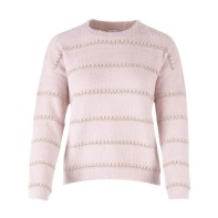 U2508 Rose Knit w. Gold Details