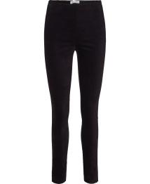 Velour Trousers - Black - Size 38