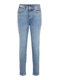 Normal Höga Cropped Jeans - Size XS