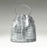 Bucket Bag -Silver