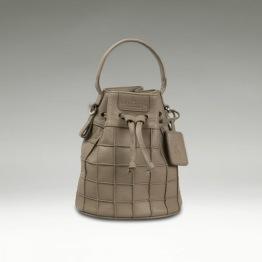 Mini Bucket Bag - Grey -