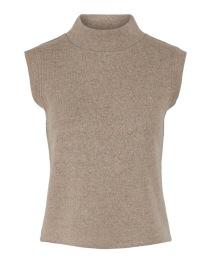 Vest - Sand/Melange - Size XS