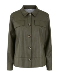 Pckatia ls Jacket - Deep Lichen Green - Size XS