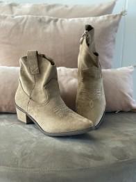Cowboy boots - Beige - Size 37