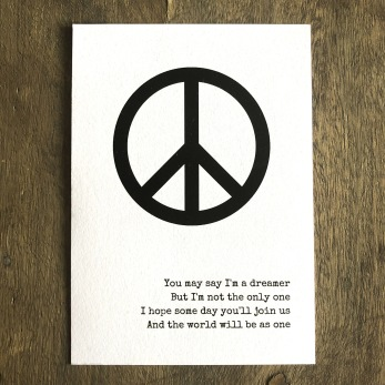 Peace prints - Print Imagine