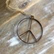 Peacemärke hängande litet