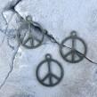 Peace Berlocker - Antik brons